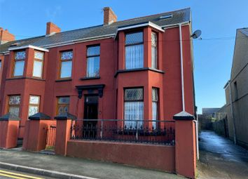 Thumbnail 3 bed end terrace house for sale in Great North Road, Milford Haven