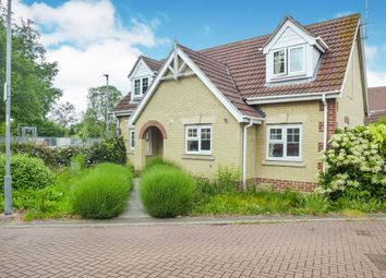 Thumbnail 3 bed detached house for sale in Awdry Drive, Wisbech
