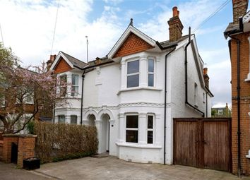 Thumbnail 4 bed semi-detached house to rent in Durlston Road, Kingston Upon Thames