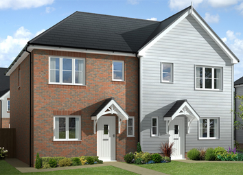 Thumbnail 3 bed semi-detached house for sale in Bradbury Close, East Preston, West Sussex
