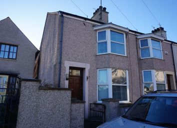 Thumbnail 3 bedroom end terrace house for sale in Tara Street, Holyhead