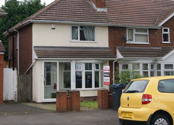Thumbnail 2 bed end terrace house to rent in Calshot Road, Birmingham