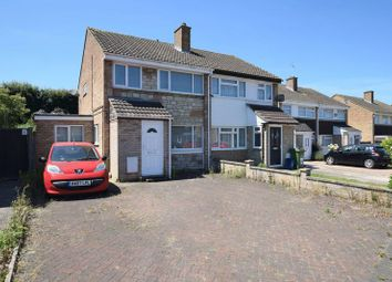 Thumbnail 3 bed semi-detached house for sale in Hunter Drive, Bletchley, Milton Keynes