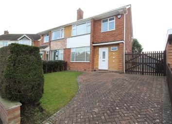 Thumbnail 3 bedroom semi-detached house for sale in Handsworth Crescent, Coventry