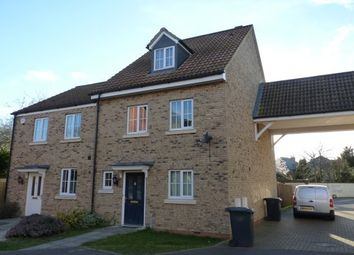 Thumbnail 3 bed property to rent in Cooks Way, Biggleswade