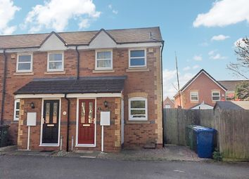 Thumbnail 2 bed semi-detached house for sale in Campion Drive, Kettlebrook, Tamworth