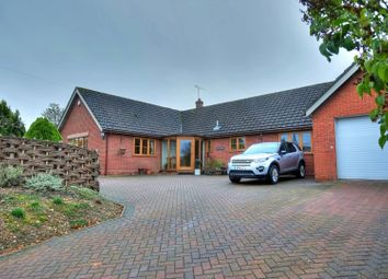 Thumbnail 4 bed detached bungalow for sale in The Street, Woodton, Bungay