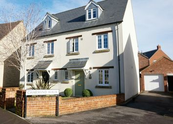 Thumbnail 3 bed town house for sale in Winterbourne Road, Swindon