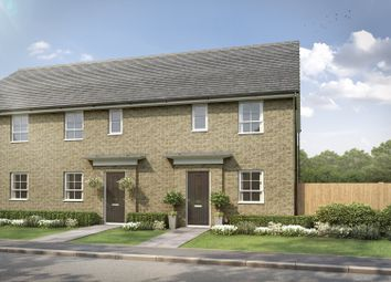 "Thumbnail 3 bed semi-detached house for sale in ""Folkestone"" at Stretton Road, Stretton, Warrington"