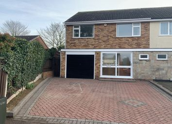 Thumbnail 3 bed semi-detached house to rent in Longlands Drive, Amington, Tamworth