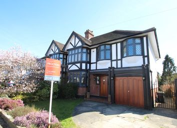 Thumbnail 4 bed semi-detached house for sale in Greencourt Road, Petts Wood, Orpington