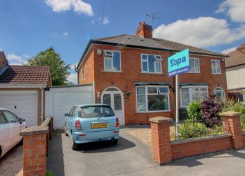 Thumbnail 3 bed semi-detached house for sale in Charnwood Drive, Leicester Forest East, Leicester