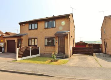 Thumbnail 2 bed semi-detached house for sale in Milford Avenue, Elsecar, Barnsley