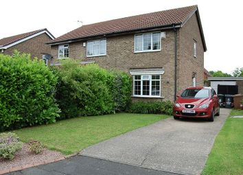 Thumbnail 2 bed semi-detached house for sale in Chelford Close, Wallsend