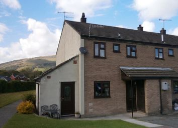 Thumbnail 3 bed semi-detached house for sale in Dolafon, Penybontfawr, Oswestry