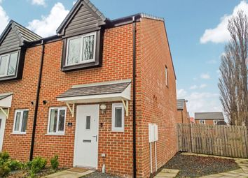 Thumbnail 2 bed semi-detached house for sale in Walkerfield Place, Newcastle Upon Tyne