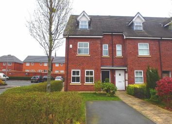 Thumbnail 4 bed town house for sale in Holywell Drive, Warrington, Cheshire