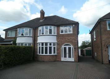 Thumbnail 3 bedroom semi-detached house to rent in Bedford Drive, Sutton Coldfield