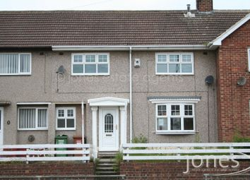 Thumbnail 3 bed terraced house to rent in Catcote Road, Hartlepool