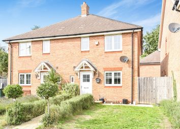 Thumbnail 3 bedroom semi-detached house for sale in Charters Close, Four Marks, Alton