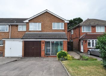 Thumbnail 3 bed semi-detached house to rent in Gibbs Hill Road, West Heath, Birmingham