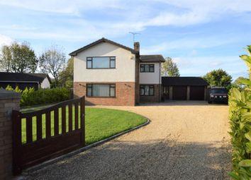 Thumbnail 4 bed detached house for sale in Harwoods Lane, Rossett, Wrexham