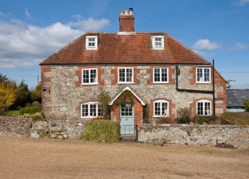 Thumbnail 5 bed farmhouse for sale in Rowlands Lane, Havenstreet, Ryde