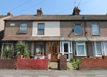 Thumbnail 2 bed terraced house for sale in Cowper Road, Rainham