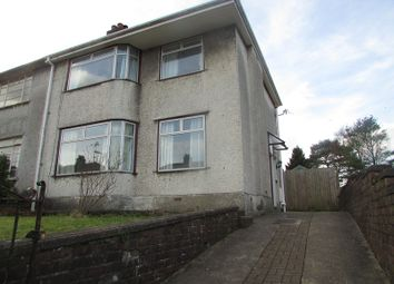 Thumbnail 3 bed semi-detached house to rent in Cimla Crescent, Cimla, West Glamorgan.