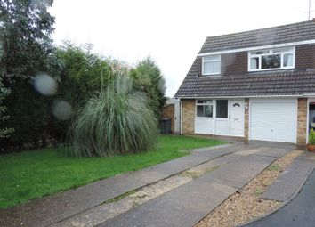 Thumbnail 3 bedroom semi-detached house to rent in St Peters Way, Peterborough, Cambs