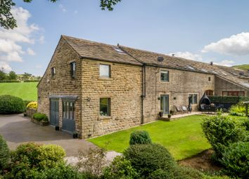 Thumbnail 4 bed barn conversion for sale in Barnside Lane, Hepworth, Holmfirth