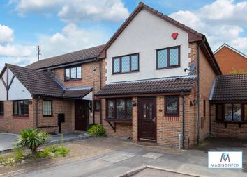 Thumbnail 3 bed semi-detached house for sale in Exmoor Close, Ilford