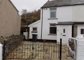 Thumbnail 2 bed terraced house for sale in Rhiw Park Road, Abertillery