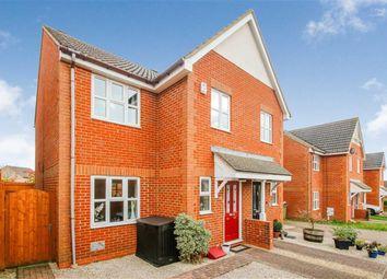 Thumbnail 3 bed semi-detached house to rent in Gunver Lane, Tattenhoe, Milton Keynes, Buckinghamshire