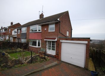 Thumbnail 3 bed semi-detached house for sale in Cromwell Road, Whickham, Newcastle Upon Tyne