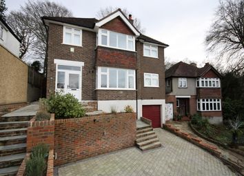 Thumbnail 4 bedroom detached house to rent in Chanctonbury Chase, Redhill