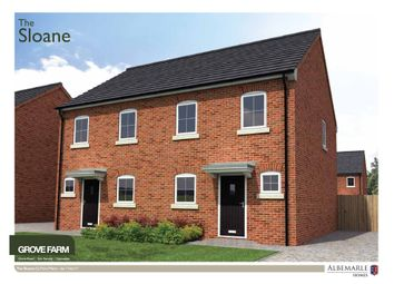 Thumbnail 2 bed semi-detached house for sale in The Bedford Grove Farm, Kirk Sandall, Doncaster