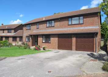 Thumbnail 5 bed detached house for sale in Canterbury Close, Lee-On-The-Solent