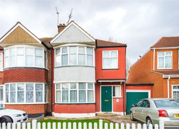 Thumbnail 3 bed semi-detached house for sale in Hillbury Avenue, Kenton, Harrow, Middlesexn