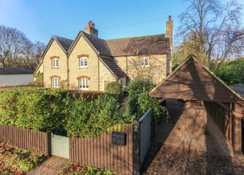 Thumbnail 3 bed semi-detached house for sale in London Road, Six Mile Bottom, Newmarket