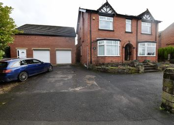 Thumbnail 4 bed detached house for sale in Newcastle Road, Congleton