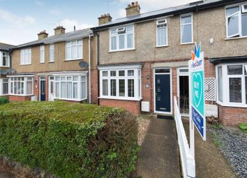 Thumbnail 3 bed terraced house for sale in Gorrell Road, Whitstable