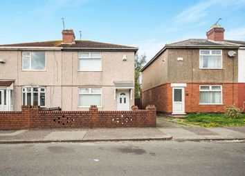 Thumbnail 2 bed semi-detached house for sale in Newhall Road, Coventry