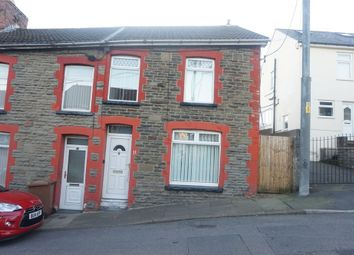Thumbnail 3 bed end terrace house for sale in St Gwladys Avenue, Bargoed, Caerphilly
