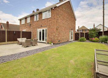 Thumbnail 3 bed semi-detached house for sale in Avon Avenue, Hucknall, Nottinghamshire