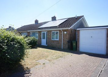 Thumbnail 2 bed semi-detached bungalow for sale in Roland Drive, Hempnall, Norwich