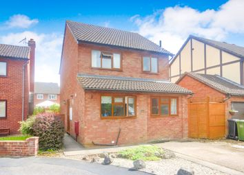 Thumbnail 3 bedroom detached house for sale in Withybrook Close, Hereford
