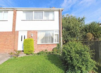 Thumbnail 3 bed terraced house to rent in Rowan Close, Sway, Lymington