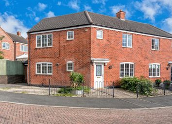 3 bed semi-detached house to rent in Harvey Close, Barwell, Leicestershire LE9