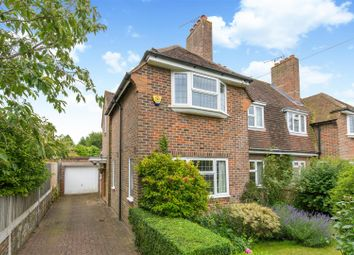 Thumbnail 3 bed semi-detached house for sale in Highdown Road, Lewes